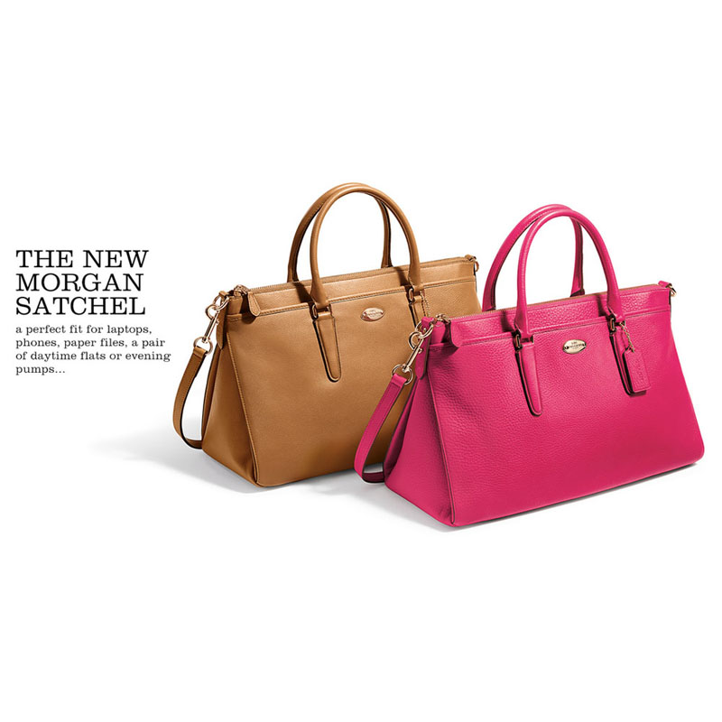 b864e51d14 ... handbag tote light saddle tan 0ad8e 0a22d; denmark f35185 morgan satchel  in pebble leather coach d7535 26d3a