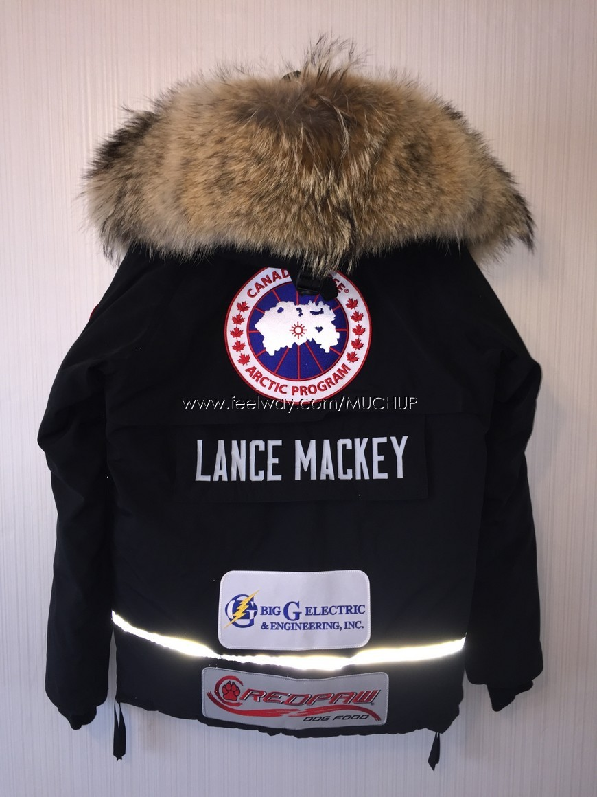 canada goose lance mackey parka jacket limited edition