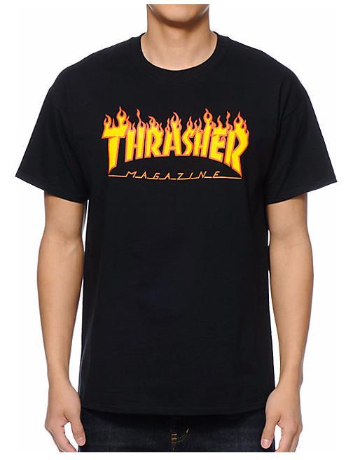 6f1a8f65d51 (정품) THRASHER 불꽃 플레임 반팔 티셔츠 트래셔 쓰레셔 | Other Brand