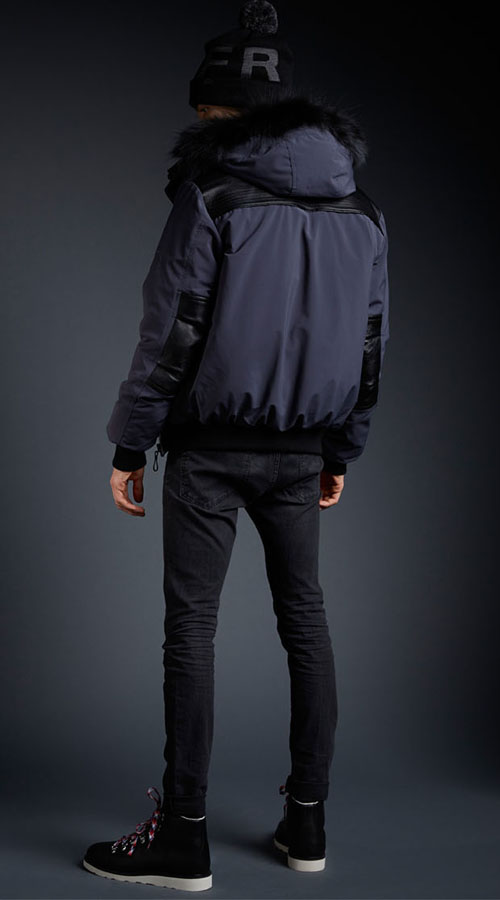8c803e21d CMFR EXCLUSIVE OXTON BOMBER Ebano Grey -   Other Brand
