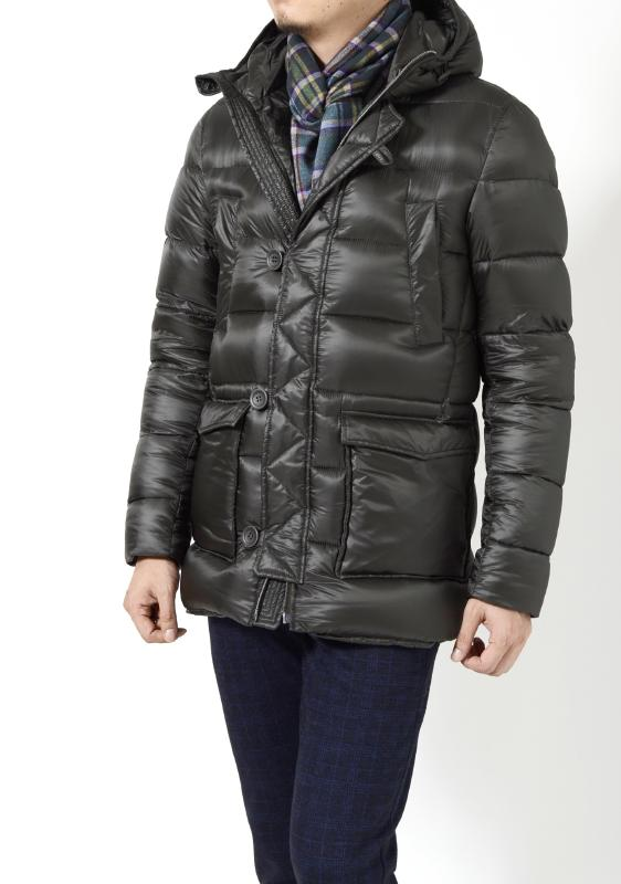 sale goose down padded mens jacket herno. Black Bedroom Furniture Sets. Home Design Ideas